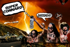 "cover album ""Super Connard"""